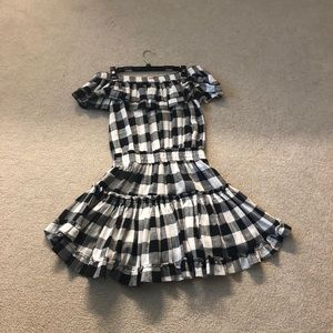 Misa Gingham dress size small